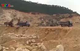 Mất an toàn tại các mỏ khai thác khoáng sản
