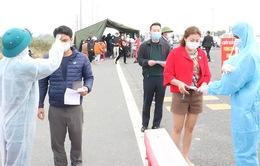 Người dân đến, quay lại Quảng Ninh sau kỳ nghỉ lễ phải khai báo y tế