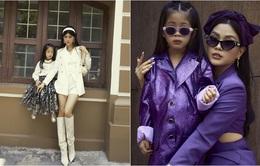 """Mẹ con Á hậu Diễm Trang """"chất lừ"""" trong bộ ảnh streetstyle"""