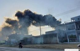Cháy bãi phế liệu 500m2 tại Đắk Lắk