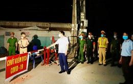 Vĩnh Phúc: Lập 4 chốt tạm thời kiểm soát dịch tại thôn Báo Văn 1, xã Đồng Văn