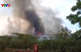 Thừa Thiên - Huế: Cháy lớn tại Khu công nghiệp Phú Bài