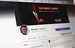 Facebook tiếp tục khóa tài khoản mạng xã hội của ông Donald Trump
