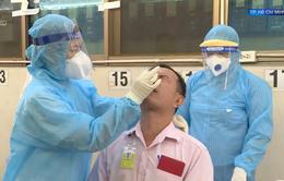 Ưu tiên xét nghiệm COVID-19 cho tài xế chở hàng hóa tại TP Hồ Chí Minh