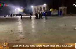 Đụng độ giữa người dân Palestine và cảnh sát Israel tại Jerusalem