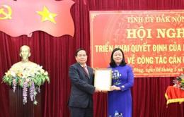 Ông Điểu K'Ré giữ chức Phó Bí thư Tỉnh ủy Đắk Nông