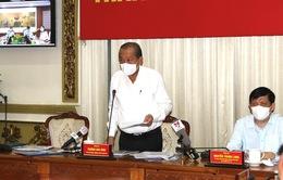 Phó Thủ tướng Trương Hòa Bình: TP Hồ Chí Minh phải dập tắt được các ổ dịch trong 2 tuần