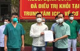 Bắc Giang đã có hơn 3.300 bệnh nhân COVID-19 khỏi bệnh