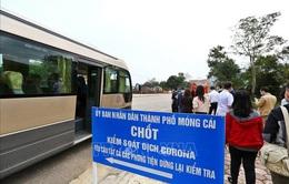 Người từ vùng dịch tới Quảng Ninh phải có xét nghiệm âm tính