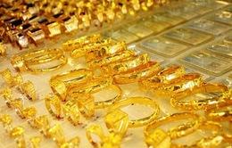 Giá vàng tiếp tục sụt giảm