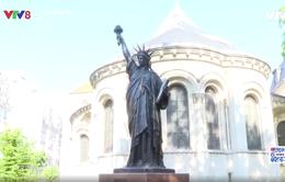 Pháp gửi tượng Nữ Thần Tự Do thứ hai tới Mỹ