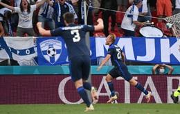 ĐT Đan Mạch 0-1 ĐT Phần Lan: Bất ngờ đầu tiên của giải đấu   Bảng B UEFA EURO 2020