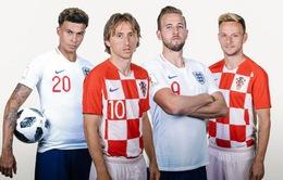 ĐT Anh - ĐT Croatia: Cuộc đấu nhiều duyên nợ | 20h00 hôm nay, 13/6 trực tiếp trên VTV6