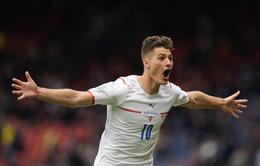 VIDEO EURO 2020: Chiêm ngưỡng siêu phẩm từ giữa sân vào lưới ĐT Scotland