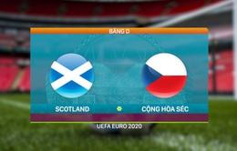 VIDEO Highlights: ĐT Scotland 0-2 ĐT CH Séc | Bảng D UEFA EURO 2020