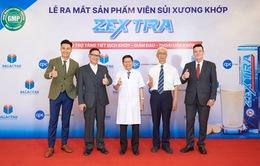 Đột phá công nghệ mới trong bào chế viên sủi xương khớp Zextra