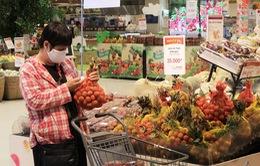Vải thiều Việt bán tại Aeon Việt Nam và Nhật Bản
