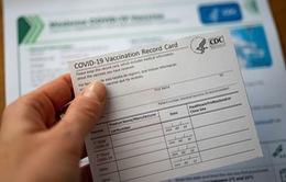 FBI: Mua bán thẻ chứng nhận tiêm vaccine COVID-19 giả có thể bị phạt tù
