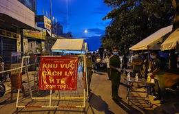 Ngày đầu phong tỏa tại một số khu vực quận Bình Tân và huyện Hóc Môn