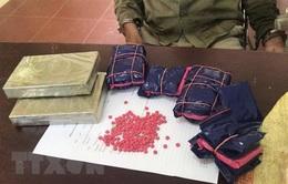Bắt nam thanh niên vượt biên vận chuyển 18.000 viên ma túy