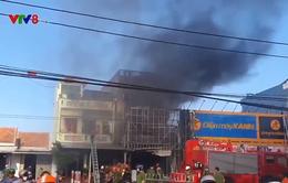 Cháy cửa hàng điện máy ở Phú Yên
