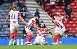 ĐT Croatia 3-1 ĐT Scotland: Tấm vé đi tiếp cho nhà Á quân thế giới   Bảng D UEFA EURO 2020
