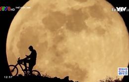 Ngắm siêu trăng cuối cùng của năm 2021