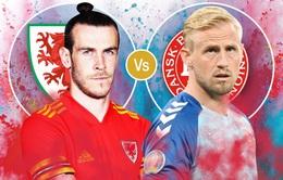 Xứ Wales – Đan Mạch: Tấm vé đi tiếp chỉ có cho người chiến thắng   23h00 hôm nay trực tiếp trên VTV6, VTV9