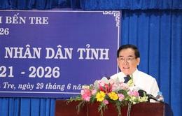 Bầu chức danh Chủ tịch, Phó Chủ tịch HĐND và UBND tỉnh Bến Tre