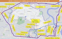 Hạn chế giao thông qua quận Gò Vấp, TP Hồ Chí Minh