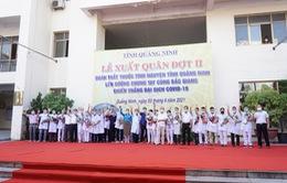 Quảng Ninh chi viện 20 y, bác sĩ tới Bắc Giang chống dịch