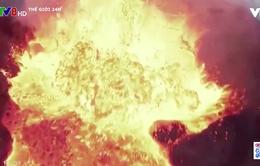 Cảm nhận hơi nóng từ núi lửa nhờ hình ảnh quay cận cảnh