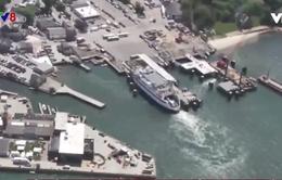 Dịch vụ vận tải phà ở bang Massachusetts, Mỹ bị tấn công