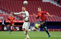 Ronaldo không ghi bàn, ĐT Bồ Đào Nha hoà nhạt nhoà ĐT Tây Ban Nha