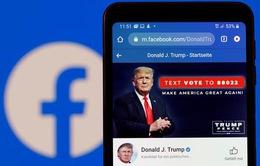 Facebook cấm Donald Trump 2 năm