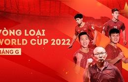 Lịch thi đấu, kết quả và bảng xếp hạng bảng G Vòng loại World Cup 2022 khu vực châu Á: ĐT Việt Nam đầu bảng