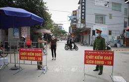 Bắc Giang thực hiện giãn cách các khu vực có nguy cơ lây nhiễm cao