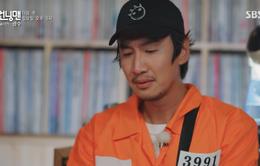 Lee Kwang Soo chia tay Running Man trong nước mắt