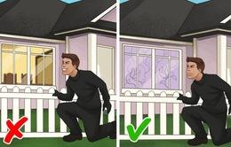 """10 bí quyết khiến kẻ trộm phải """"tránh xa"""" nhà của bạn"""
