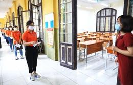 Hà Nội diễn tập phòng, chống dịch COVID-19 cho kỳ thi vào lớp 10