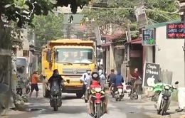 """Xử lý xe quá tải tại Thường Tín chỉ như """"bắt cóc bỏ đĩa""""?"""