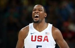 Kevin Durant & vai trò quan trọng tại ĐT bóng rổ Mỹ