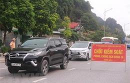 Quảng Ninh: Không xét nghiệm nhanh COVID-19 tại 3 chốt kiểm soát như dự định
