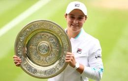 Đánh bại Pliskova, Ashleigh Barty vô địch đơn nữ Wimbledon