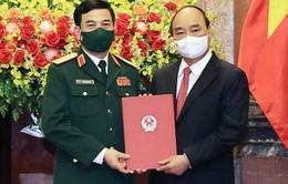 Bộ trưởng Bộ Quốc phòng Phan Văn Giang được thăng quân hàm Đại tướng