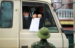 Không kiểm tra giấy xét nghiệm lái xe ở các tỉnh thực hiện nguyên tắc Chỉ thị 16