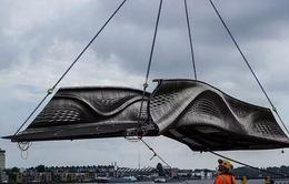 Khánh thành cây cầu xây dựng bằng phương pháp in 3D đầu tiên trên thế giới