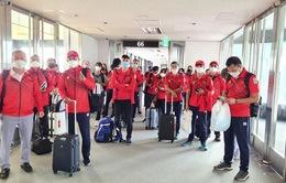 Đoàn Thể thao Việt Nam tham dự Olympic Tokyo 2020 đã đến Nhật Bản