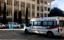 Bộ Y tế khảo sát bệnh viện dã chiến số 2 tại TP Hồ Chí Minh