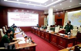Sở Chỉ huy tiền phương Bộ Quốc phòng triển khai giải pháp phòng dịch